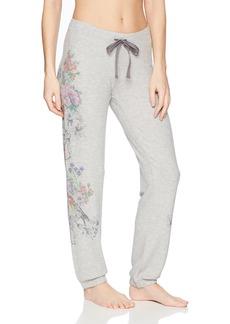 PJ Salvage Women's Floral Bird Jogger Pant  XS