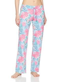 PJ Salvage Women's Hot Tropic Floral Lounge Pant  M