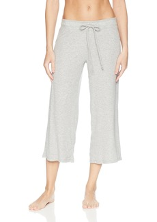 PJ Salvage Women's Lily Lesuiree Rib-Knit Crop Pant  XS