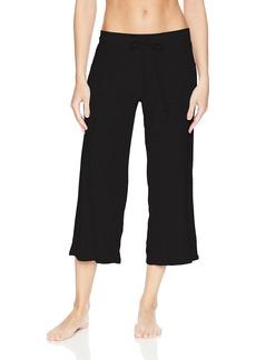 PJ Salvage Women's Lily Lesuiree Rib-Knit Crop Pant  XS