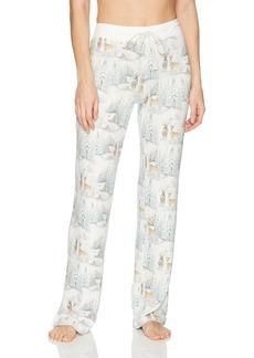 PJ Salvage Women's Lost in Wonder Printed Lounge Pant  L