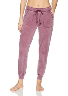 PJ Salvage Women's Lost In Wonder Solid Jogger Pant  M