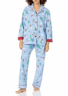 PJ Salvage Women's Loungewear Flannels Pajama Pj Set  M