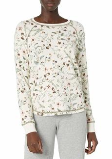 PJ Salvage Women's Loungewear Glamping Life Long Sleeve Top  M