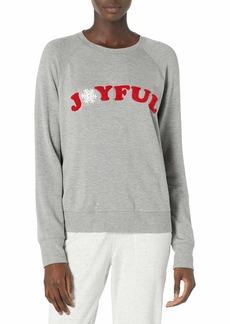 PJ Salvage Women's Loungewear Joyful Spirits Long Sleeve Top  XS