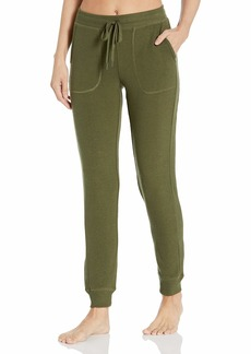 PJ Salvage Women's Loungewear Peachy in Color Banded Pant  L