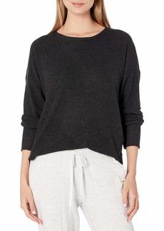 PJ Salvage Women's Loungewear Peachy in Color Long Sleeve Top  L