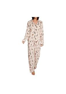 PJ Salvage Women's Loungewear Playful Prints Pajama Pj Set  M