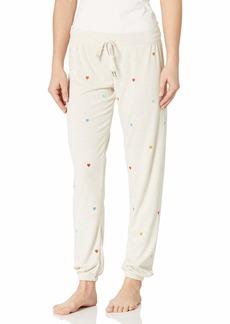 PJ Salvage Women's Loungewear Retro Lounge Banded Pant  S