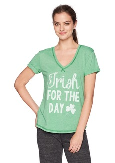 PJ Salvage Women's Lucky Meirish for The Day Tee  S