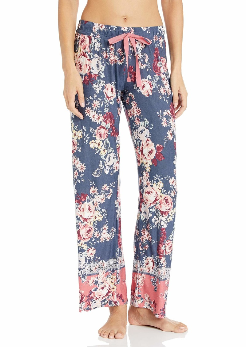 PJ Salvage Women's Midnight Garden Pant  M