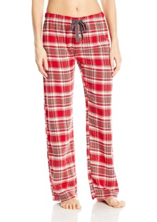 PJ Salvage Women's Mountains are Calling Plaid Pant  S
