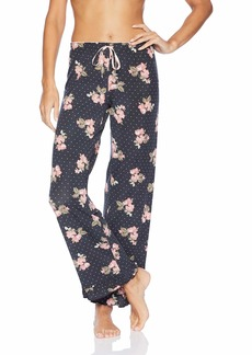 PJ Salvage Women's Open Leg Sleepwear Pajama Pant