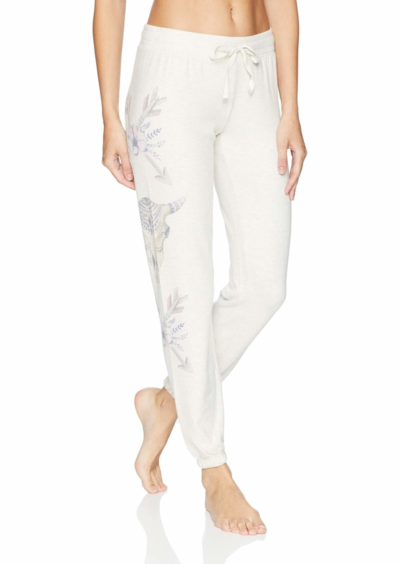 PJ Salvage Women's Printed Lounge Jogger Pant