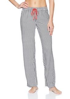 PJ Salvage Women's Rock N' Rose Checkered Pant  XL