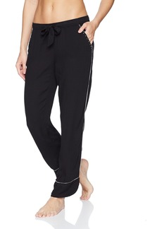 PJ Salvage Women's Rock N' Rose Studded Pant Black L