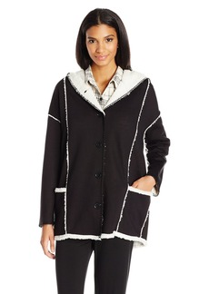 PJ Salvage Women's Sherpa Chic Jacket  S