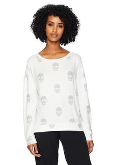 PJ Salvage Women's Simple Skull L/S Top  M