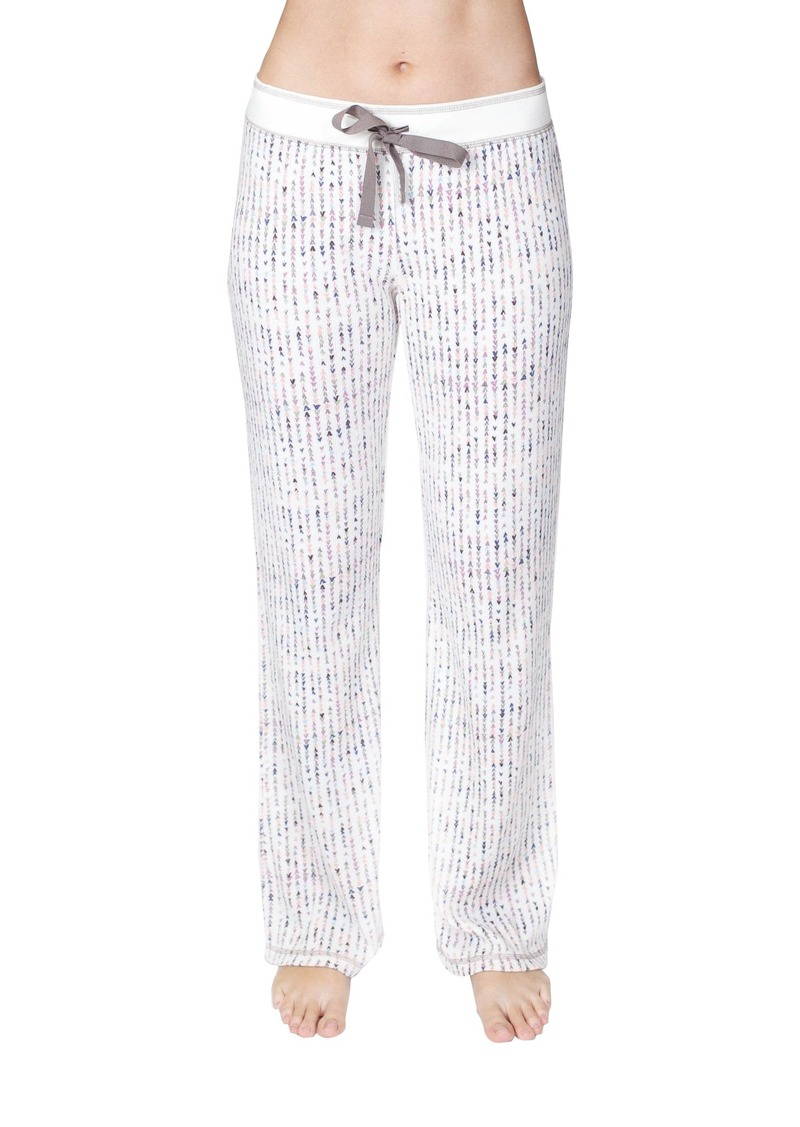 PJ Salvage Women's Sleepwear Pajama Pant White Band