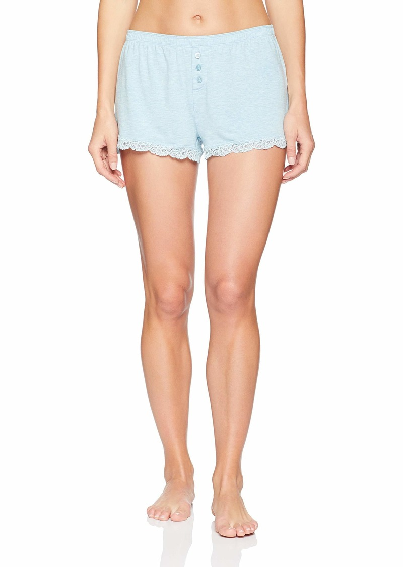 PJ Salvage Women's Sleepwear Pajama Short with Detail