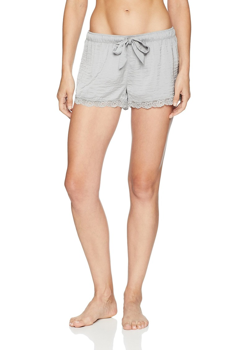 PJ Salvage Women's Solid Lounge Pajama Short