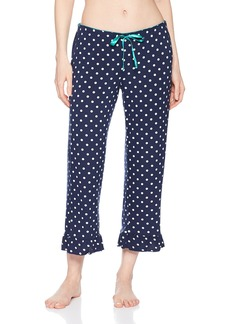 PJ Salvage Women's Soul Mates Polka Dot Crop Pant  S