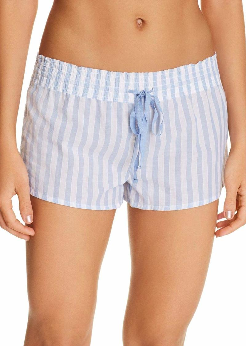 PJ Salvage Women's Stripe Print Lounge Pajama Short