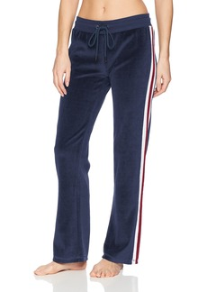 PJ Salvage Women's Track Star Lounge Pant Navy