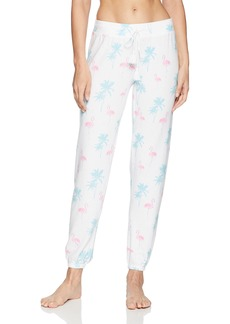 PJ Salvage Women's Tropicana Flamingo Jogger Pant  S