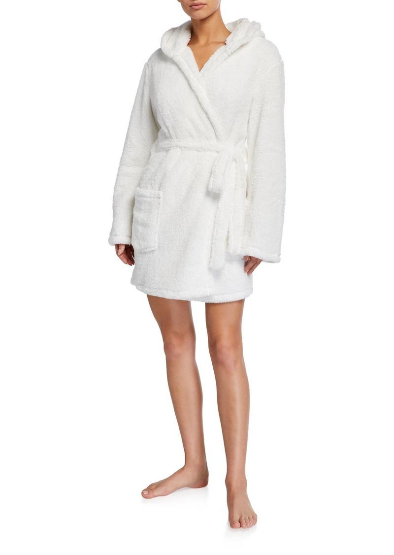 PJ Salvage Solid Faux Fur Robe