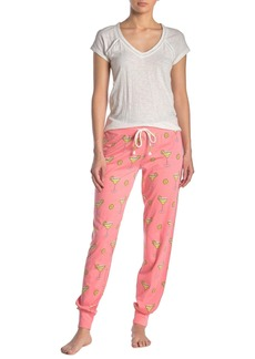 PJ Salvage Team Tequila Drink Print Lounge Joggers
