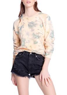 Women's Pj Salvage Coral Reef Crewneck Pajama Top
