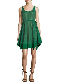 Plenty by Tracy Reese Palm Stripe Slip Dress