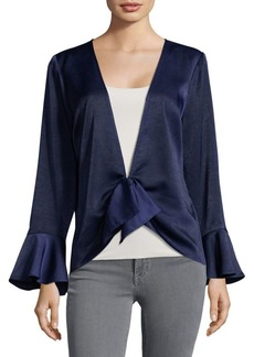 Plenty by Tracy Reese Bell-Cuffs Draped Top