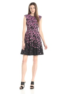 Plenty by Tracy Reese Dresses Women's Allison Printed Fit and Flare Dress