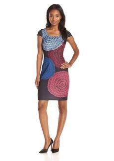 Plenty by Tracy Reese Dresses Women's Jenni Cap Sleeve Printed Dress