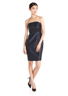 Plenty by Tracy Reese Dresses Women's Nadia Strapless Jacquard Dress