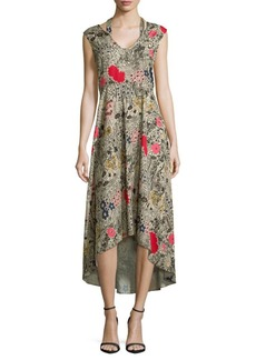 Plenty by Tracy Reese Floral Hi-Lo Dress
