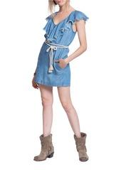PLENTY BY TRACY REESE Frayed Popover Dress