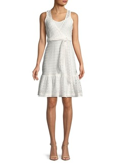 Plenty by Tracy Reese Lace Tie Waist Dress