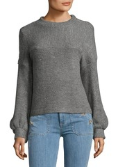 Plenty by Tracy Reese Ribbed Bishop-Sleeve Sweater