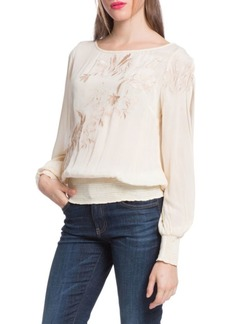 Plenty by Tracy Reese Slit Sleeve Blouse