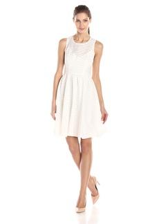 Plenty by Tracy Reese Women's Alana Striped Gauze Sleeveless Dress