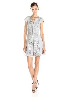 Plenty by Tracy Reese Women's Cap-Sleeve Shift Dress