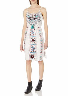 Plenty by Tracy Reese Women's Embroidered Dress  L