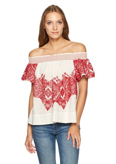 Plenty by Tracy Reese Women's Embroidered Top  S