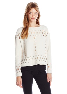 Plenty by Tracy Reese Women's Eyelet Pullover  M