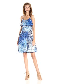 Plenty by Tracy Reese Women's Flounce Tank Dress