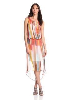 Plenty by Tracy Reese Women's  Hi Low Surplice Dress