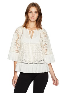 Plenty by Tracy Reese Women's Lace Blouse  M